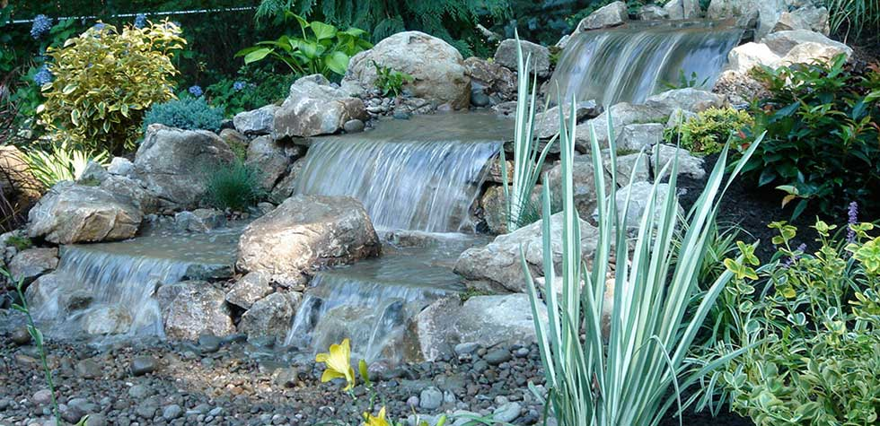 Water Features - Nassau County Landscapers - Nature's Choice Landscaping, Inc,.